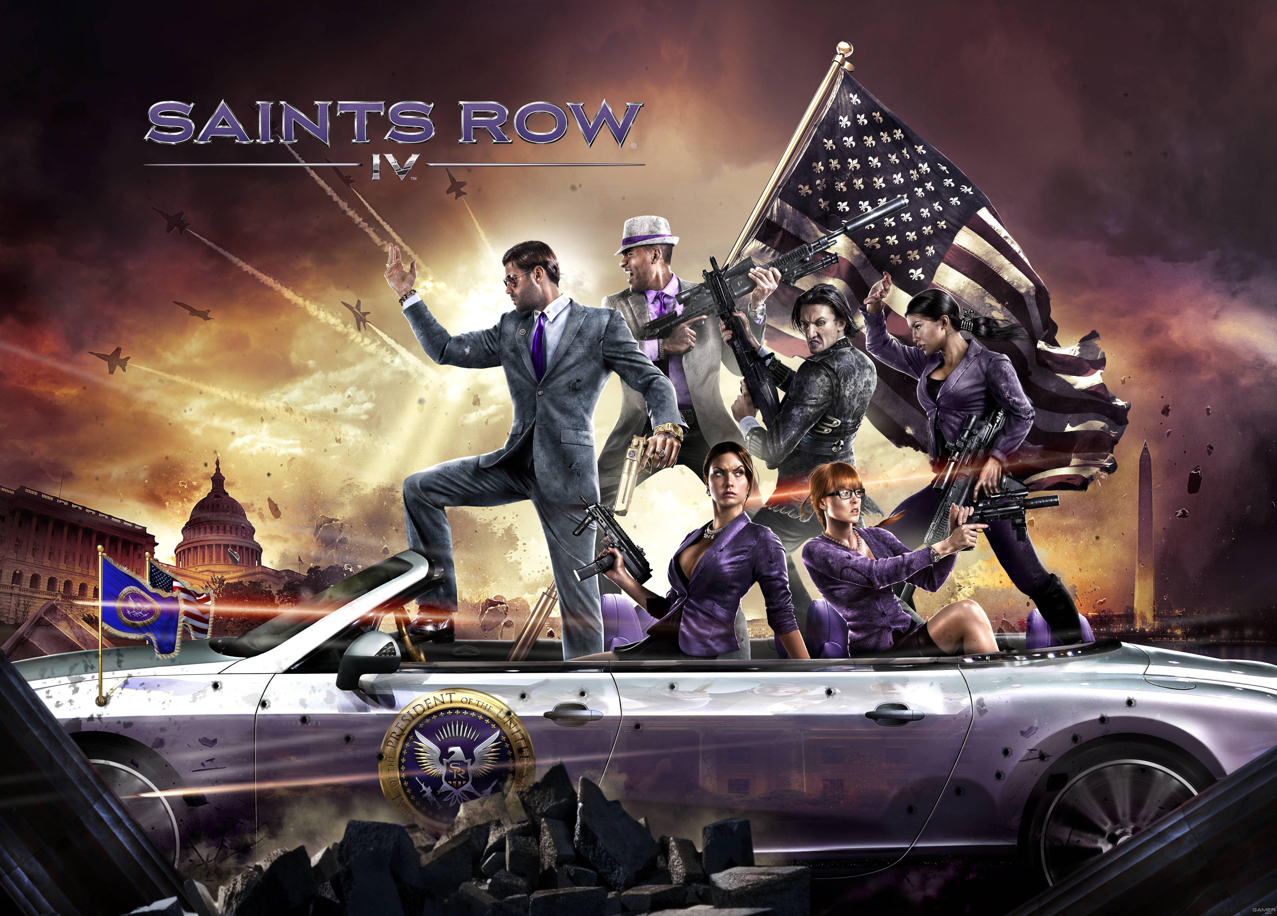 Saints Row IV by Eli Morgan