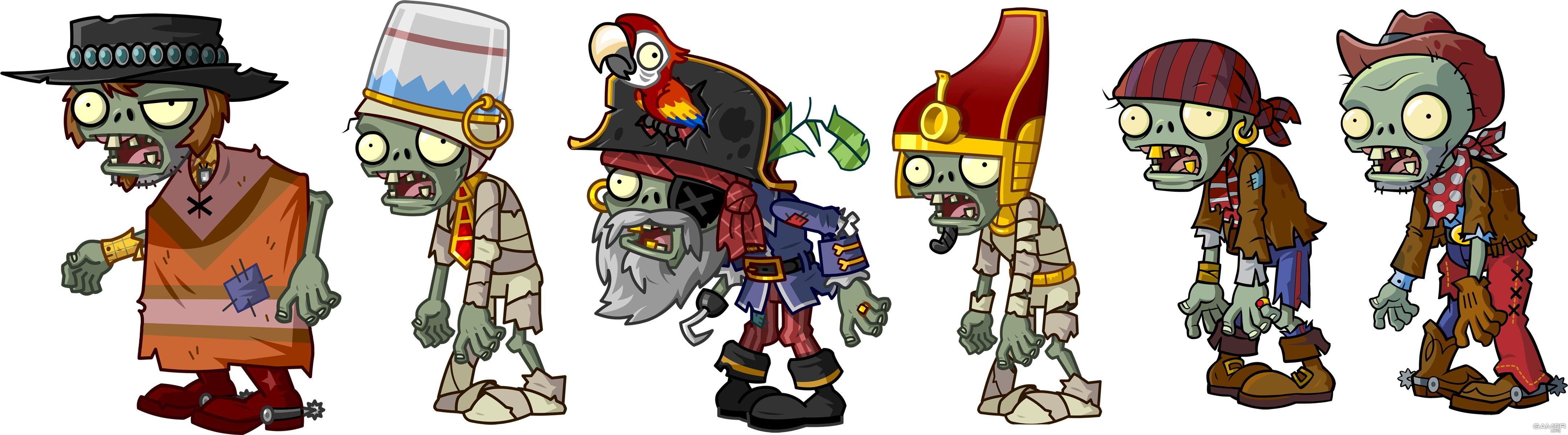 картинки зомби из игры зомби и растения по-настоящему крутыми